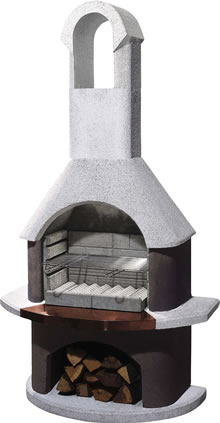 Image of Buschbeck Masonry Barbecue - St Moritz