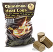 Chimenea Heat Logs - 10kg Sack