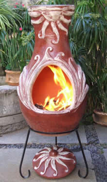 Fire Clay Chimenea