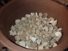 Image of Lava Stones - 4ltr Bag