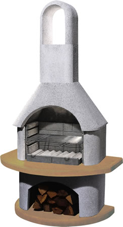 Image of Buschbeck Masonry Barbecue - Carmen