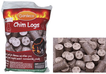 Image of Gardeco Chimenea Heat Logs - 10kg Sack