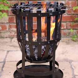 Small Image of Vulcan Large Firebowl With Grill