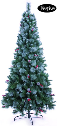 Image of Frosted Virginia Pine 6ft Christmas Tree