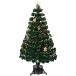 Small Image of Green 60cm (2ft) Fibre Optic Christmas Tree