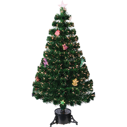 Image of Green 60cm (2ft) Fibre Optic Christmas Tree