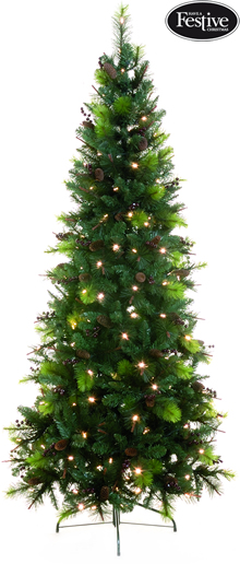 Image of Pre-lit Sherwood Pine Christmas Tree