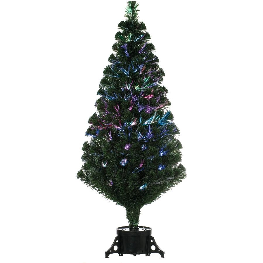 4ft Fibre Optic Christmas Tree Rainforest Islands Ferry Image Remote