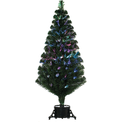 Image of Remote Control Green 120cm (4ft) Fibre Optic Christmas Tree