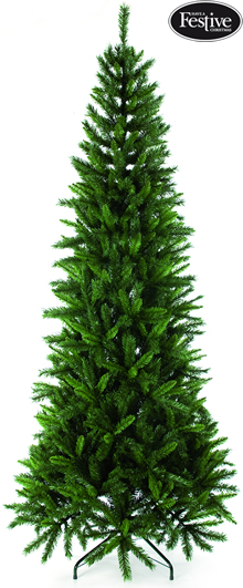 Image of Regency Green Slim Fir 6.5ft Christmas Tree