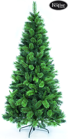 Image of Slim Greendale Fir 7ft Christmas Tree