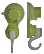 Small Image of Wallbug Christmas Wreath Holder in Green
