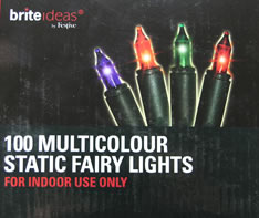 Image of Static Multicolour Fairy Lights