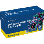 Small Image of Multicolour Multiaction Super Bright LED Christmas Lights - 200 Lights