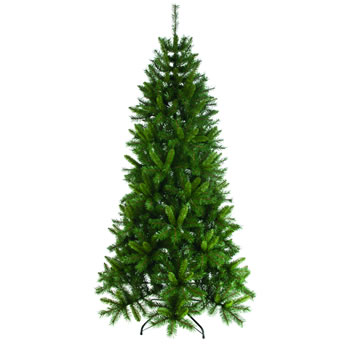 Image of Heartwood Spruce Green 6ft Christmas Tree - 180cm