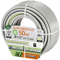 Small Image of Claber Silver Green Hosepipe 12.5mm - 50 Metres