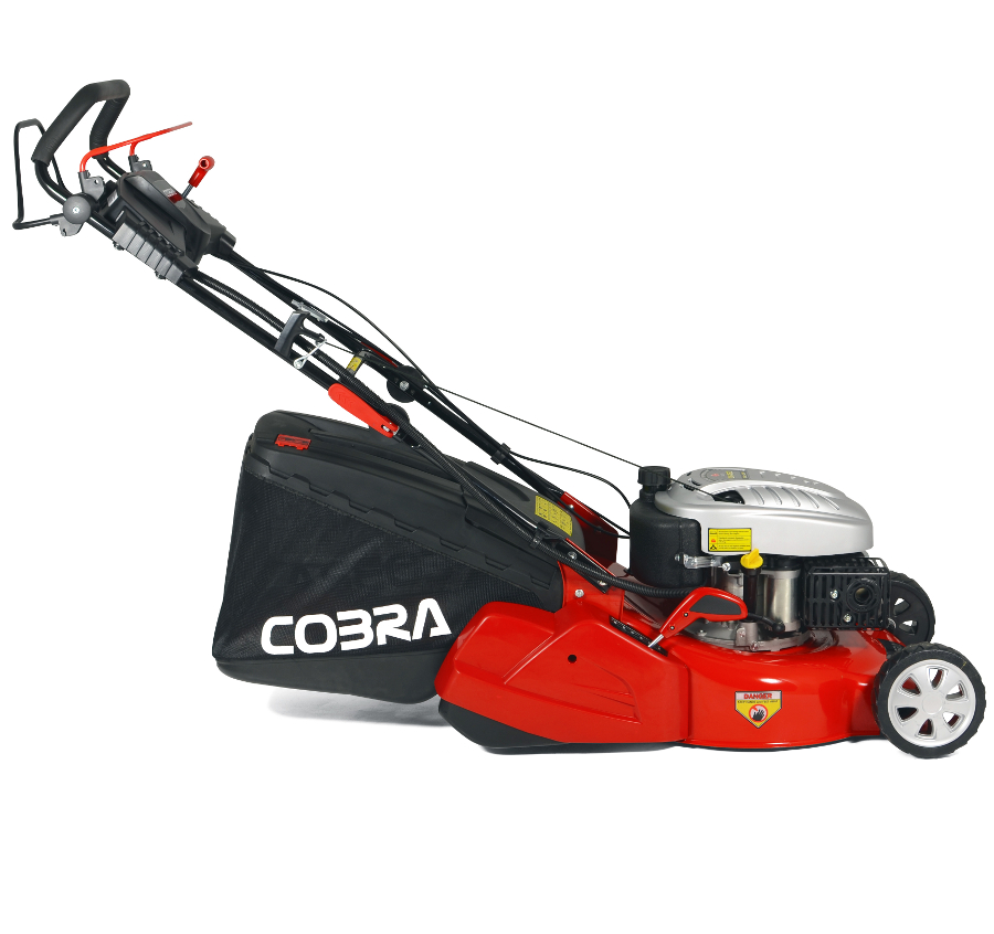 Extra image of Cobra 46cm Self Propelled Petrol Mower, Rear Roller, Electric Start