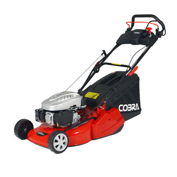 Image of Cobra 46cm Self Propelled Petrol Mower with Rear Roller and Electric Start - CORM46SPCE