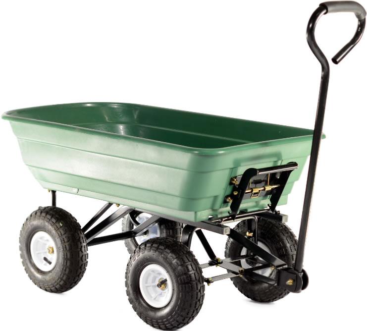 Cobra Garden Cart With Plastic Body 163 66 29 Garden4less