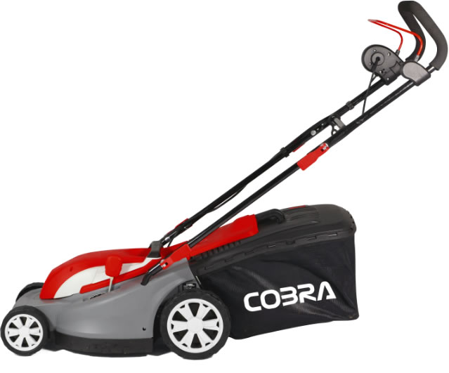 "Extra image of Cobra 15"" Electric Lawnmower with Rear Roller"