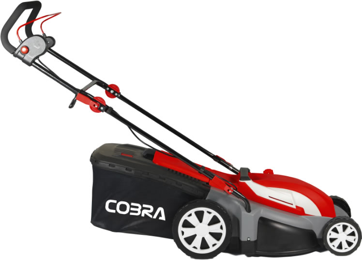 "Extra image of Cobra 17"" Electric Lawnmower with Rear Roller"