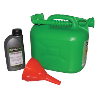 Image of Petrol Lawnmower Starter Kit