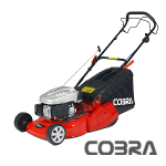 Cobra 46cm Self Propelled Petrol Mower with Rear Roller - RM46SPC