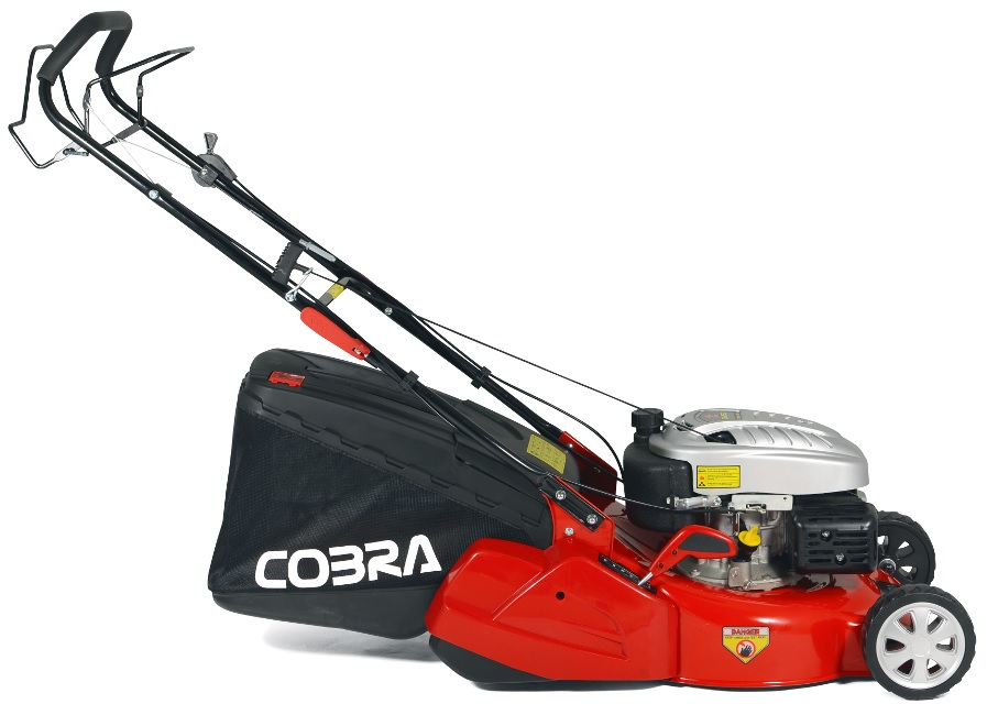 Extra image of Cobra 46cm Self Propelled Petrol Mower with Rear Roller - RM46SPC