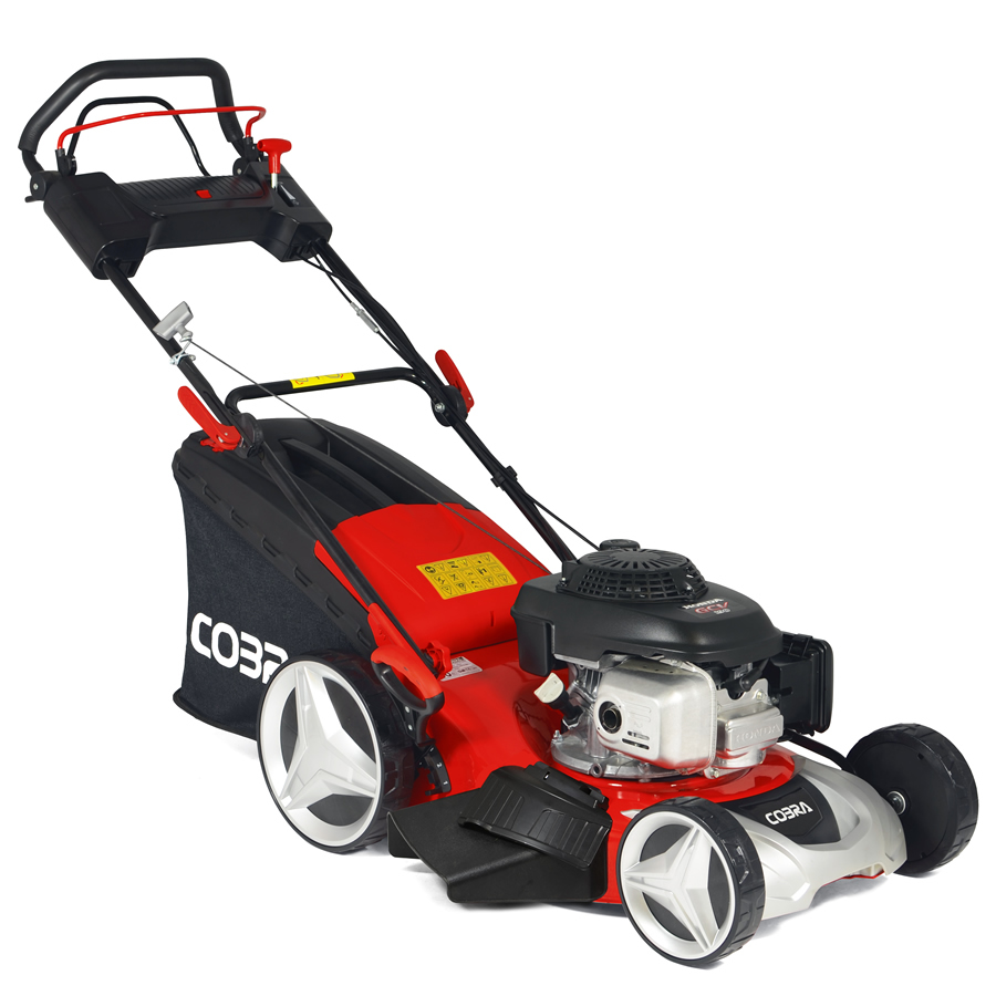 "Extra image of Cobra 20"" Self Propelled Petrol Lawnmower"
