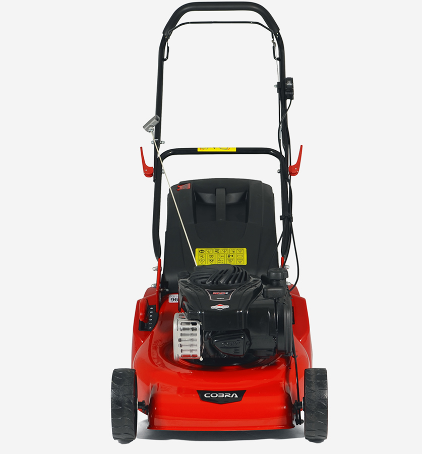 "Extra image of Cobra 18"" Petrol Lawnmower with Rear Roller"