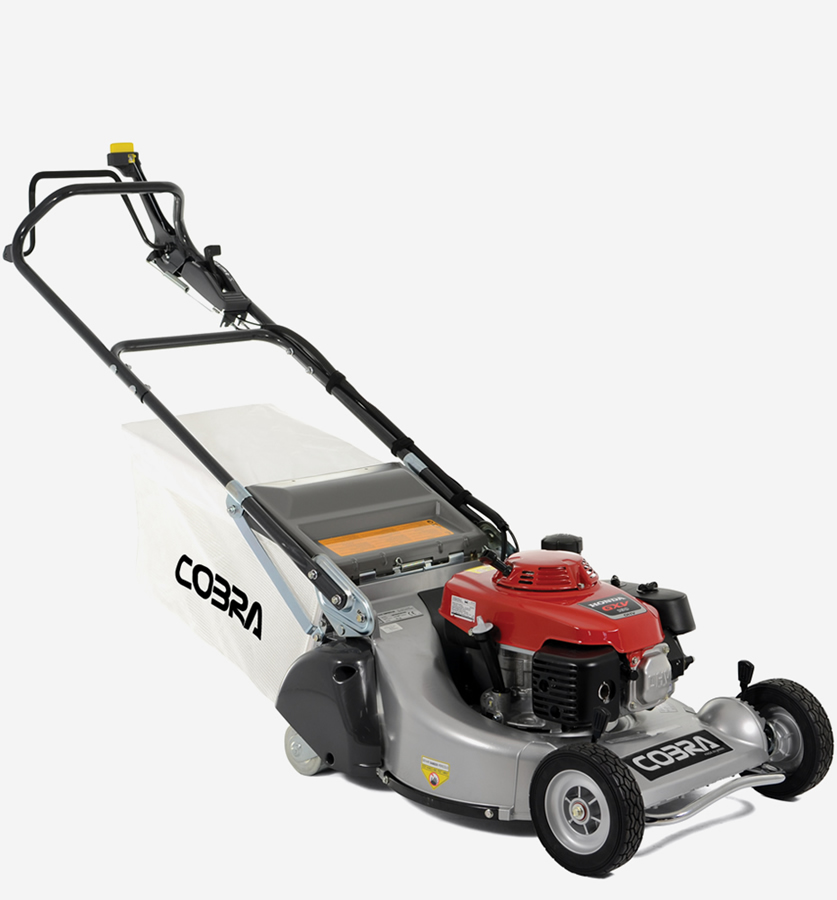 "Extra image of Cobra Pro 21"" Self Propelled Petrol Lawnmower with Rear Roller"