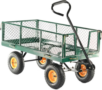 Image of Cobra Garden Cart with Steel Mesh Body
