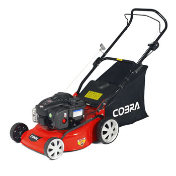 Image of Cobra 40cm Petrol Push Mower with Briggs and Stratton Engine - M40B