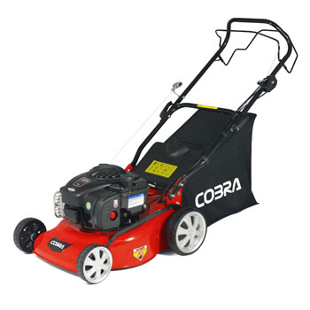 Image of Cobra 40cm Self Propelled Petrol Mower with Briggs and Stratton Engine - M40SPB