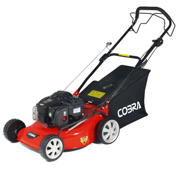 Image of Cobra 46cm Self Propelled Petrol Mower with Briggs and Stratton Engine - M46SPB