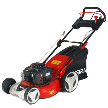 Image of Cobra 46cm Self Propelled Petrol Mower, Briggs and Stratton Engine