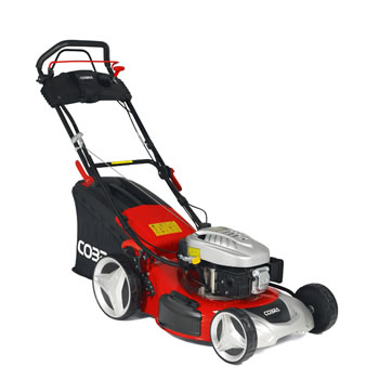 Image of Cobra 46cm Self Propelled Petrol Mower with Electric Start - MX46SPCE