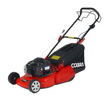 Image of Cobra 46cm SP Petrol Mower with Rear Roller and Briggs and Stratton 500E Engine - RM46SPB