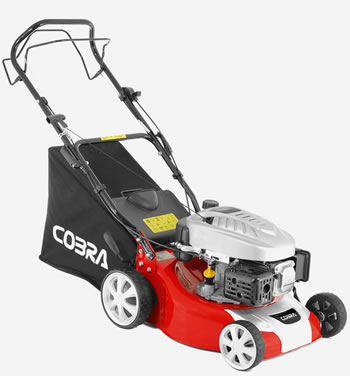 Image of Cobra 40cm Petrol Self Propelled Mower with Cobra Engine - COM40SPC