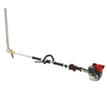 Image of Cobra Long Reach Petrol Hedgetimmer with 27cc Kawasaki Engine - LRH270K