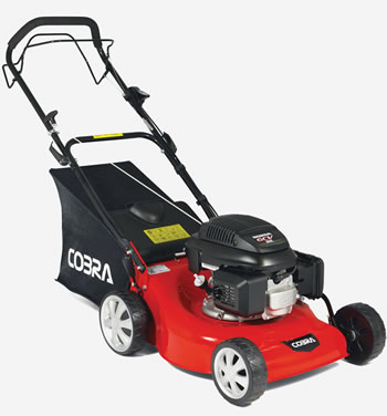 "Image of Cobra 18"" Self Propelled Petrol Lawnmower"