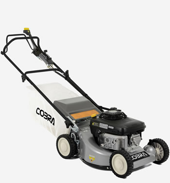 "Image of Cobra 19"" Petrol Powered Lawnmower"