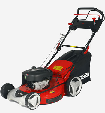 "Image of Cobra 22"" Self Propelled Variable Speed Petrol Lawnmower"