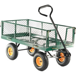 Small Image of Cobra Garden Cart with Steel Mesh Body