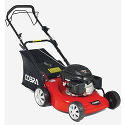 "Small Image of Cobra 18"" Self Propelled Petrol Lawnmower"