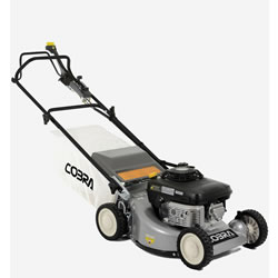 "Small Image of Cobra 19"" Petrol Powered Lawnmower"