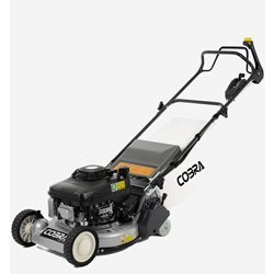 "Small Image of Cobra 19"" Self Propelled Petrol Rear Roller Lawnmower"