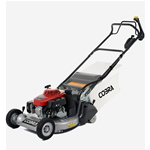 "Cobra 21"" Self Propelled Petrol Lawnmower with Rear Roller"