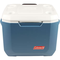 Extra image of Coleman Cool Box - 50qt Xtreme Wheeled Cooler - Blue/White