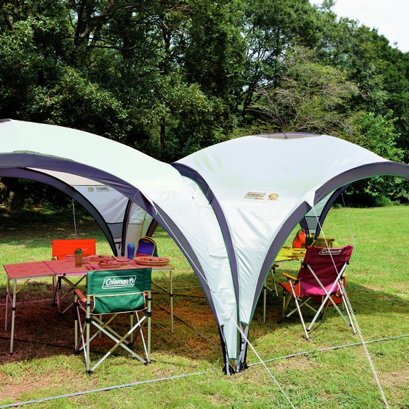Coleman Event Shelter Connector Strip 12 x 12ft & Coleman Large Event Shelter - 12 x 12ft - £139.99 | Garden4Less UK ...